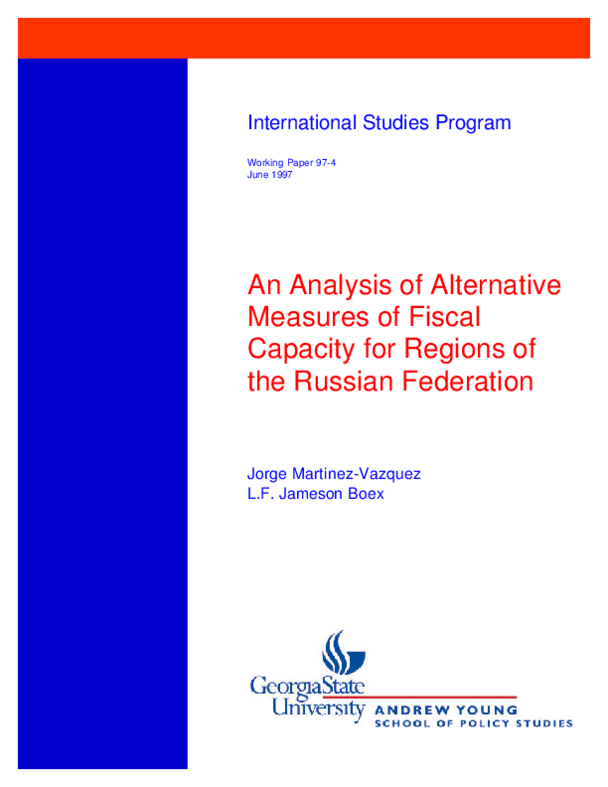 an analysis of fiscal policy 1 analysis of fiscal policy in nevada an overview of the approach and findings of the governor's task force on tax policy in nevada 2 presentation overview.